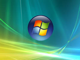 Windows Vista Logo Wallpaper by B-SignLayout