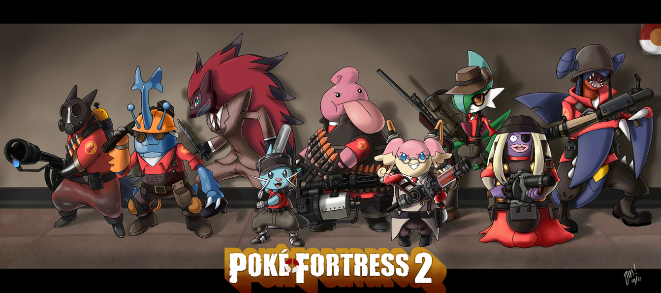 Pok'e Fortress 2 by QuantumJinx on DeviantArt