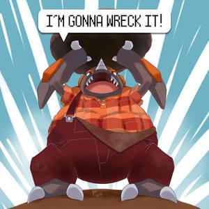 Rock Wrecker