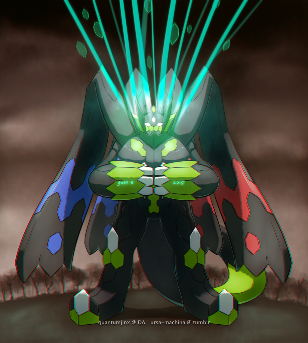 perfect zygarde by QuantumJinx on DeviantArt