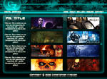 Portfolio Site Layout