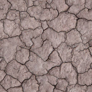 Seamless Cracked Dirt