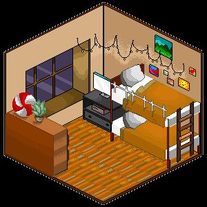 pixel room! by ProbablyAPotato