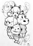 Nana's gang by Mochi-Lee