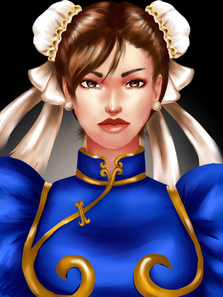 Chun Li - Stret Fighters by SharonWinged