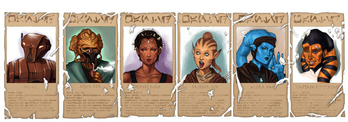 The Crew of the Ryll's Tale