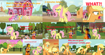 If Fluttershy Said No To Applejack by SunsetShimmerTrainZ1