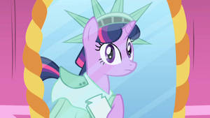 Twilight Sparkle (Statue Of Liberty Outfit) by SunsetShimmerTrainZ1