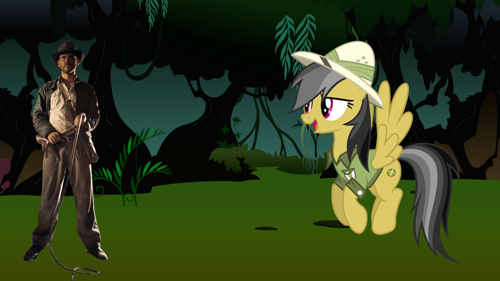 daring_do_meets_indiana_jones_by_sunsets