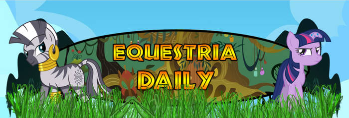 Zecora And Twilight Equestria Daily Banner