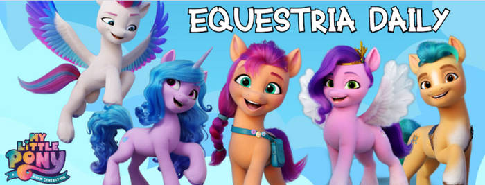 MLP G5 Equestria Daily Banner