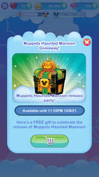 Muppets Haunted Mansion Giveaway Chest