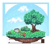 Pixel practice scene by r0se-designs