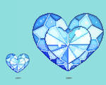 Crystal Pixel Heart - Making of video