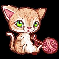 I haz a yarn - Meow by r0se-designs