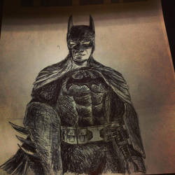 The Dark Knight by dvn225