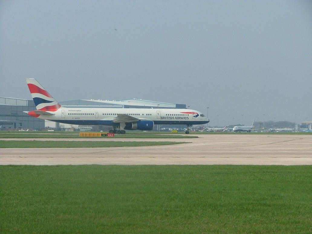 Stock 2 - British Airways by aviation-stock