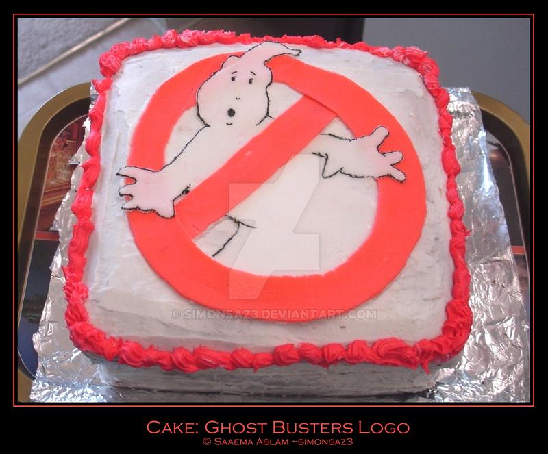 Cake: Ghost Busters Logo by simonsaz3