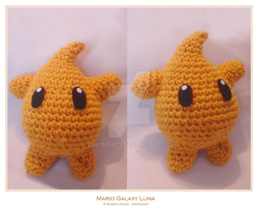 Olaf Amigurumi Free Pattern : Crochet: Mario Galaxy Luma by simonsaz3 on DeviantArt