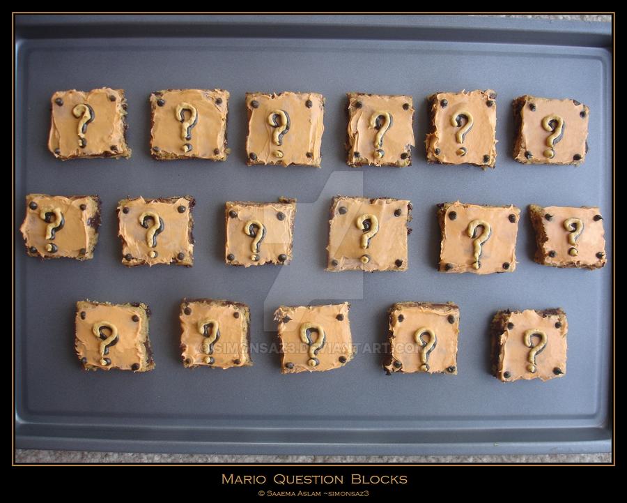 Cookies: Mario Question Blocks by simonsaz3