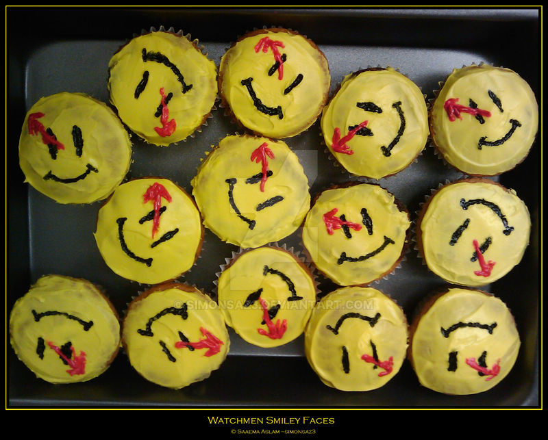 Cakes With Smiley Faces