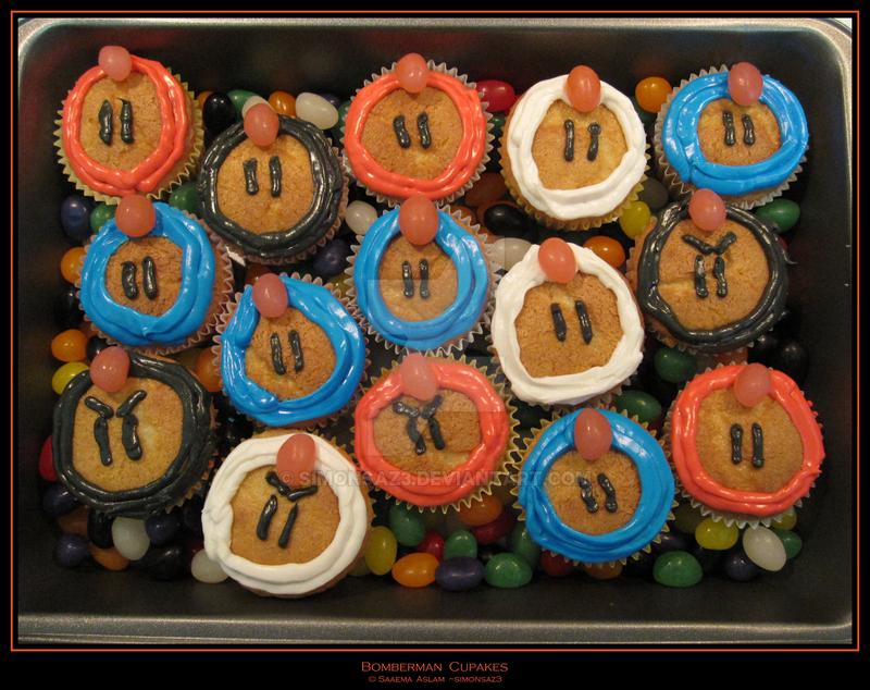 Cupcakes: Bomberman by simonsaz3