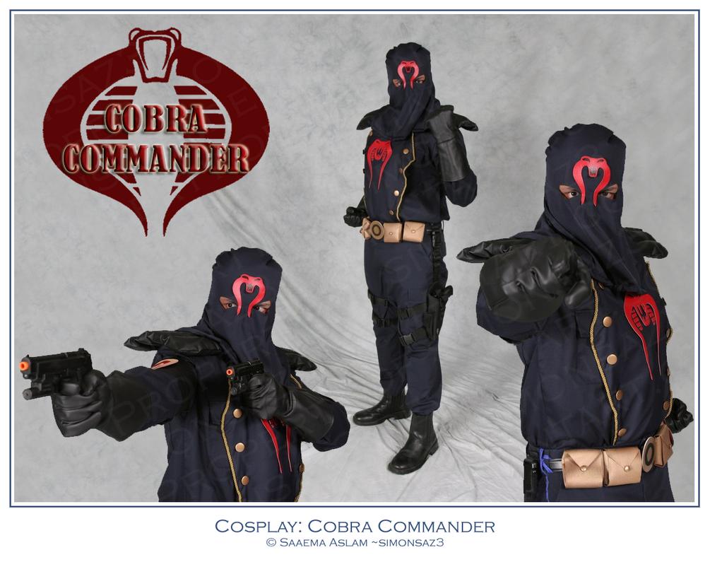 Cosplay: Cobra Commander by simonsaz3