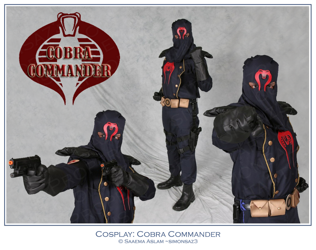 Cosplay: Cobra Commander by simonsaz3