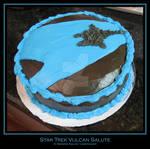 Cake: Star Trek emblem