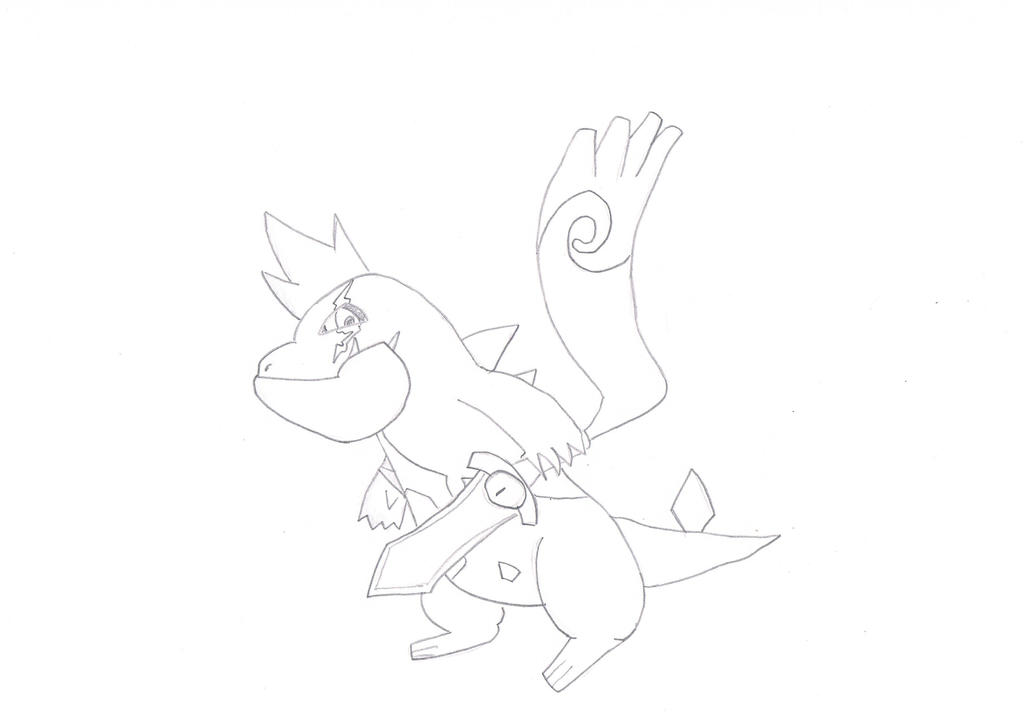 Pokemon OC: Aqutar by Ninkom13