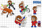 Alex Kidd Wallpaper