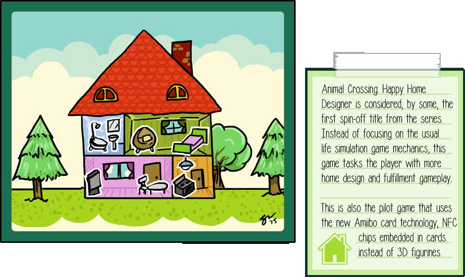 Animal Crossing Happy Home Designer by soks2626