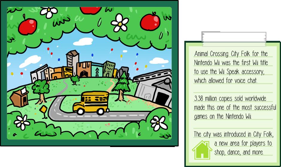Animal Crossing City Folk by soks2626