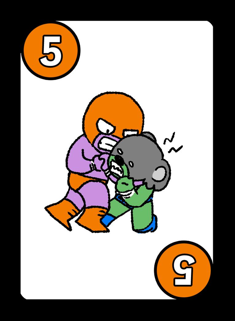 ASWG Dark Match - 5 Card - Headlock by soks2626