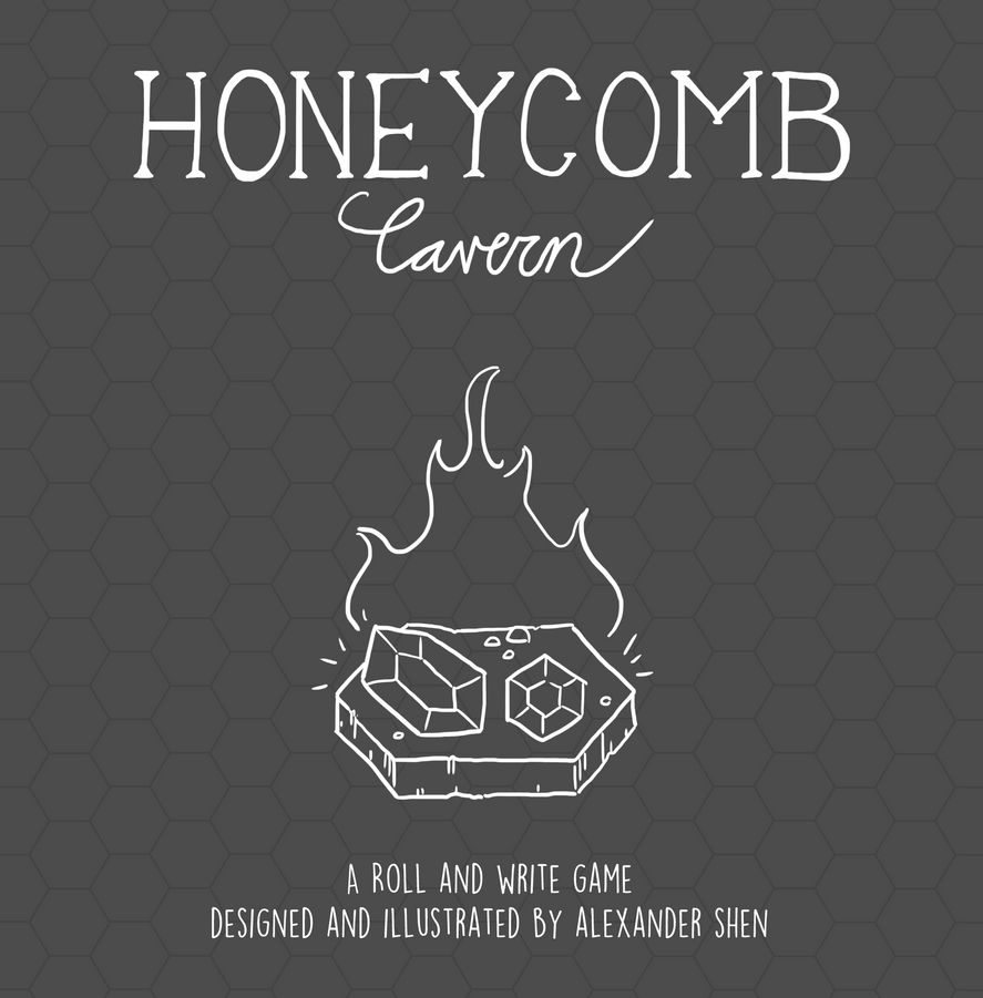 Honeycomb Cavern Cover by soks2626