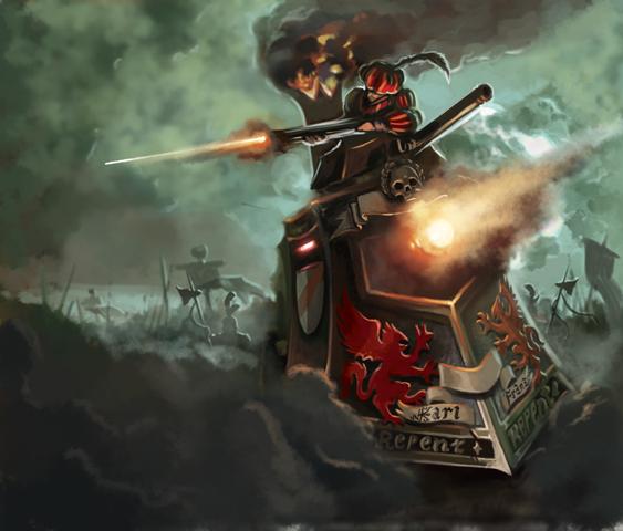 Warhammer:Invasion Steamtank