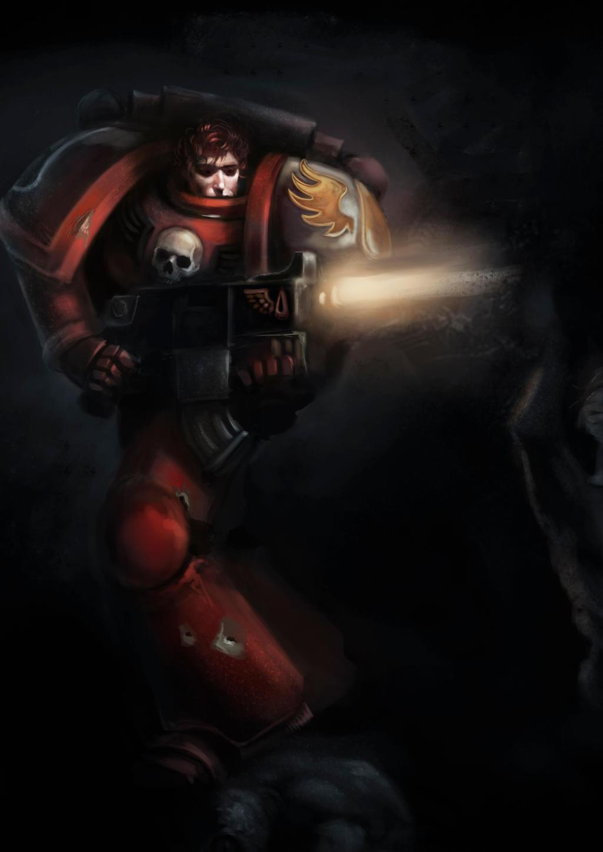 BloodAngel by DavidSondered
