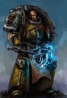 Valrak - Imperial Fist by DavidSondered