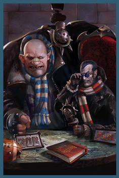 Alt-cover for Blood Bowl issue 1