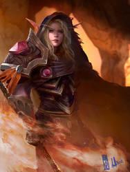 Commission Livs Bloodelf by DavidSondered