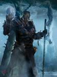 Commission - Dionemetes, the Frozen Duke