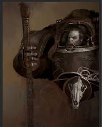 Work in Progress - Space Wolf