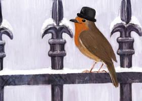 Mr Robin by SaskiaDeKorte