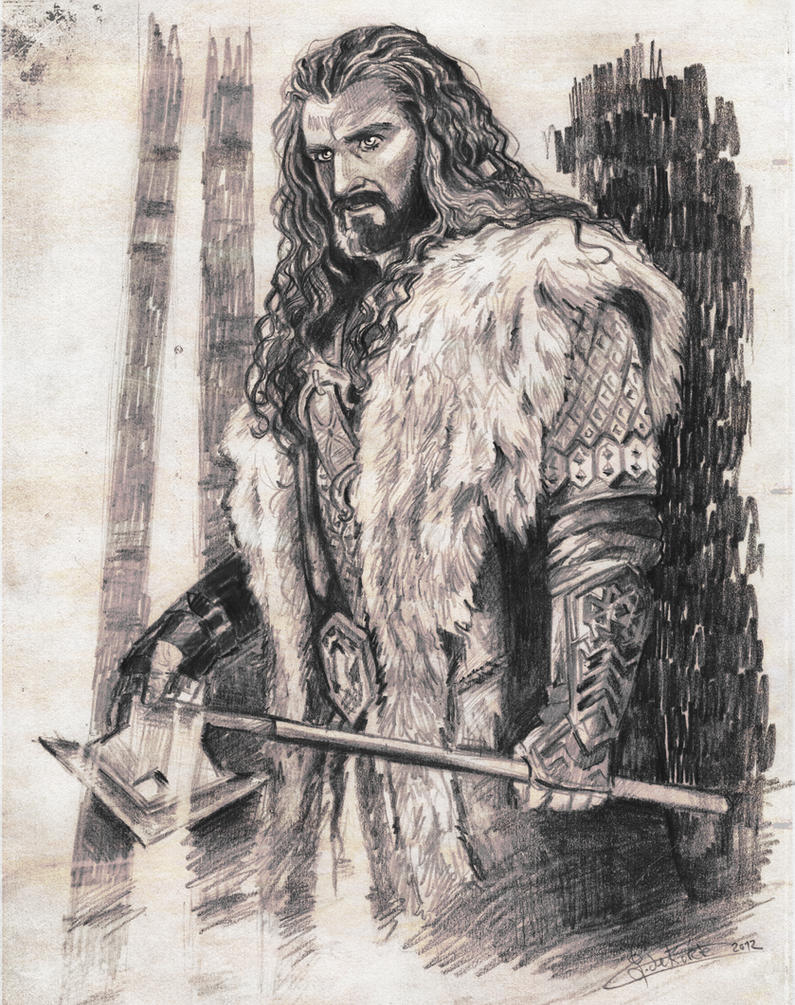 Thorin Oakenshield by Finnguala