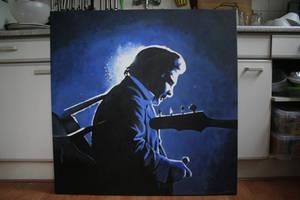 Johnny Cash by SaskiaDeKorte