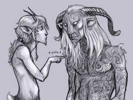 Faun VS Faun by SaskiaDeKorte