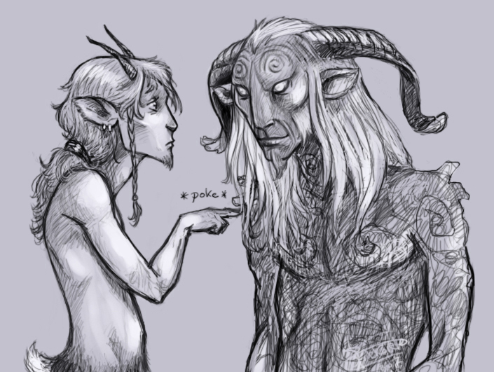 Faun VS Faun by Finnguala