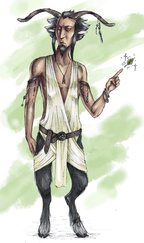 Saul the Faun by Finnguala