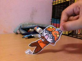 Boboiboy:DON'T PULL MY HOODIE!!!!! by RAM2Awsome