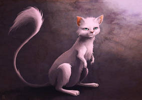 Mew - realistic version - by Sa-chan1603